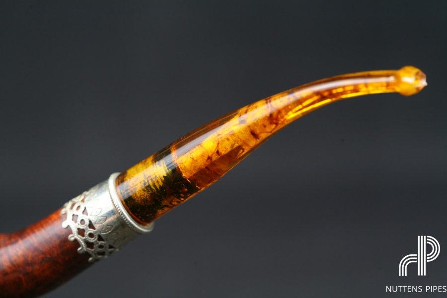 bent acrylic amber