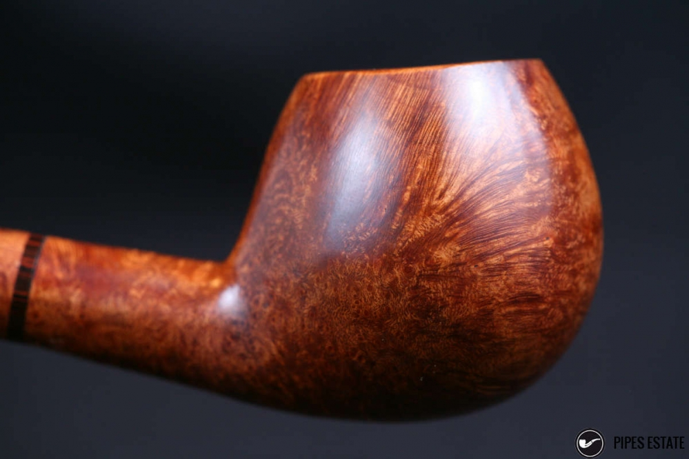 oval with stem briar/cumberland
