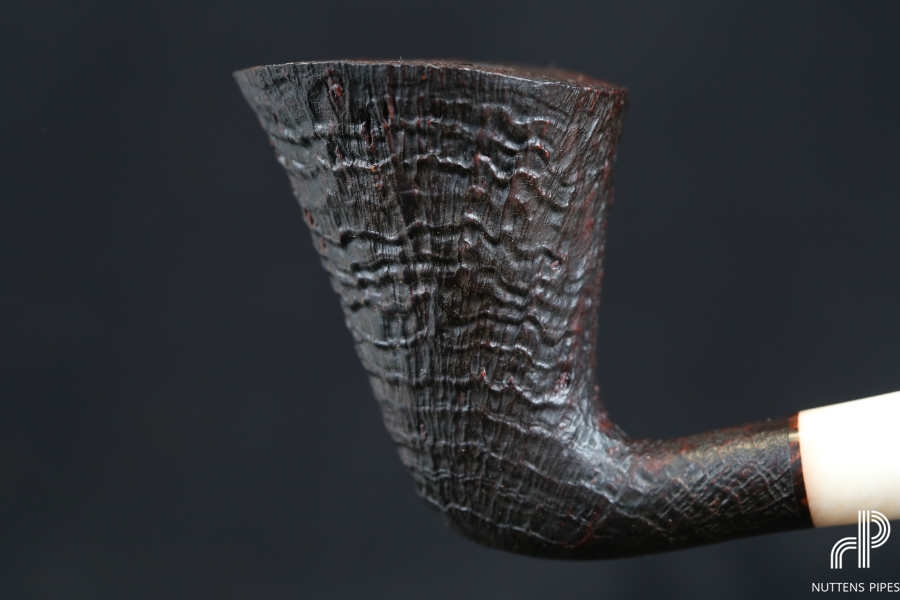 dublin bent rings acrylic ivory
