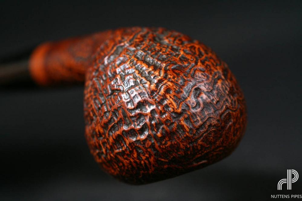 tomato sandblasted ebonit