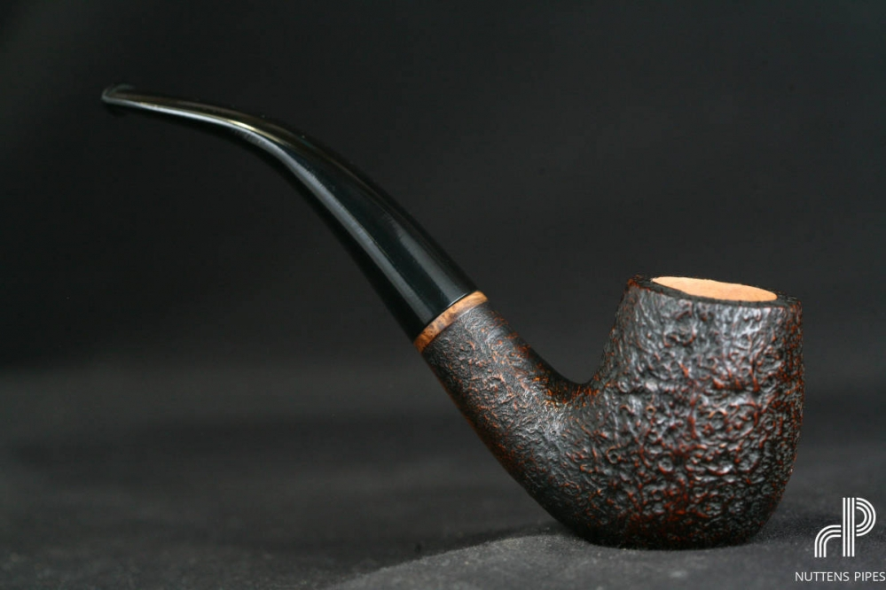 bent billiard sandblasted