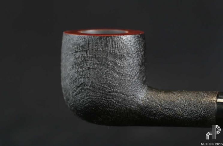 pot black sandblasted