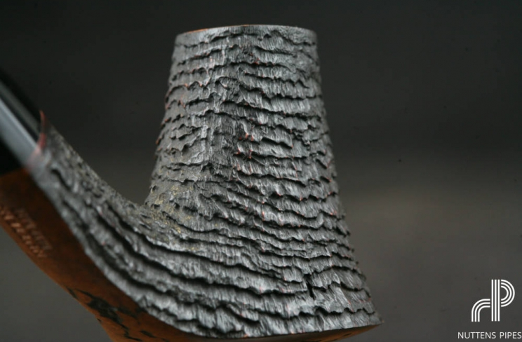 volcano sandblasted hand made