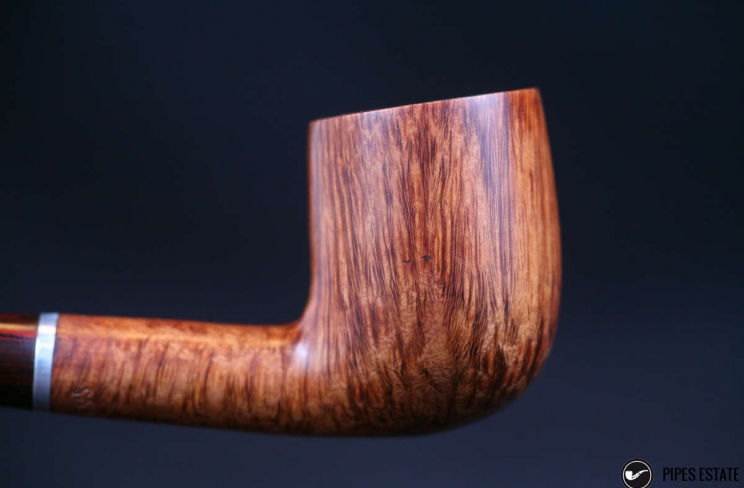 billiard slighty bent straight grain cumberland