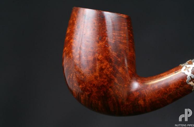 bent acrylic amber vintage