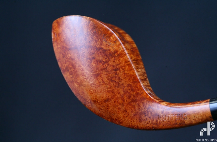 bent birdseye ebonit hand made