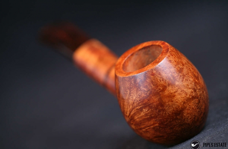 oval with stem briar/cumberland