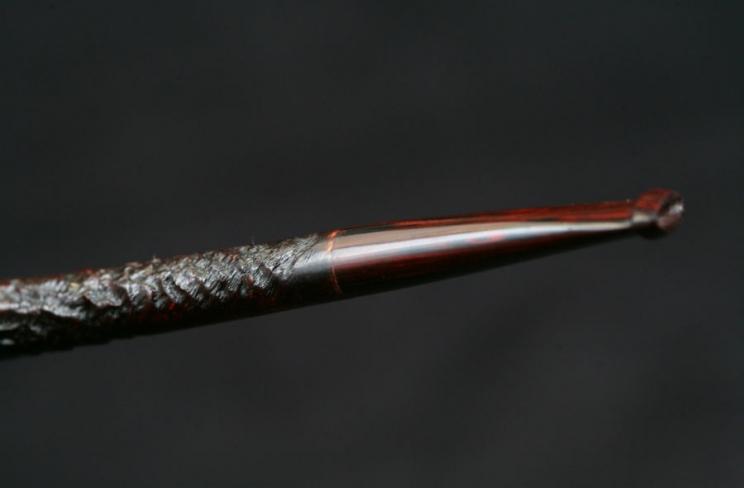 belge sandblasted ring grain