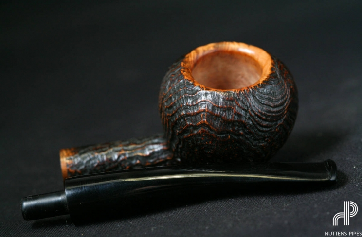 dark tomato sandblasted ebonit