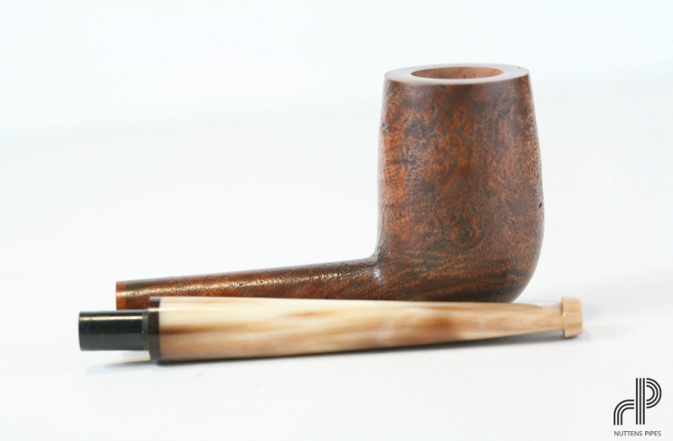 chimney sandblasted horn stem