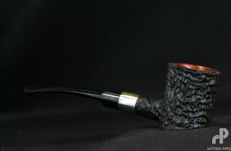 cherrywood sandblasted ebonit