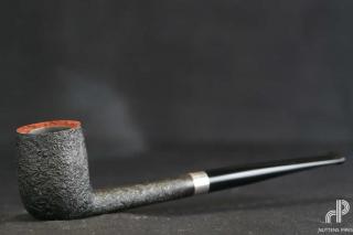 pipe bing sterling silver black