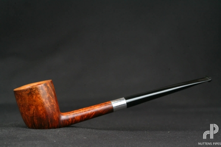 slim pot sterling silver twin bore #6
