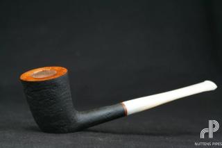 dublin acrylic 'ivory' hand made
