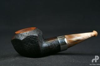 rhodesian panelled nosewarmer horn #1