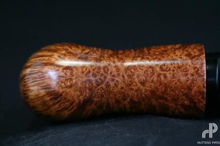 reverse calabash smooth straight grain