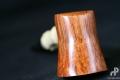 poker bambou tuyau ébonite